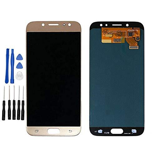 ixuan - Pantalla táctil para Samsung Galaxy J7 (2017) J730F/DS J730FM/DS (dorado)