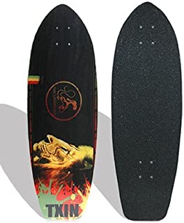 TXIN - Surfskate Deck Rasta Lion 31 Sur Skateboard monopa...