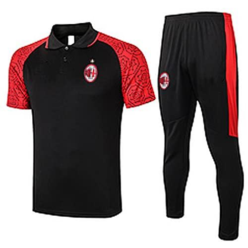 Traje de Entrenamiento de fútbol Ajǎx Něrěs 2021 Jersey de fútbol Conjunto Medio Manga Top Pantalones Competencia Club de fútbol Match Ropa Educación Física XXL