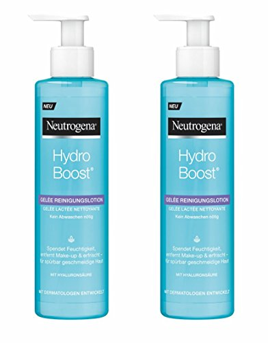 Neutrogena Hydro Boost Gel Limpiador - 2 Unidades x 200 ml.