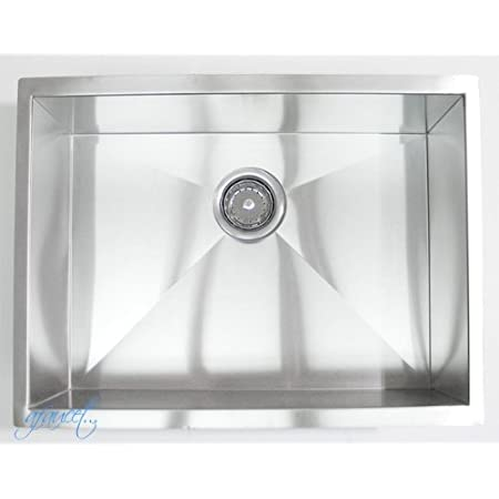 23 X 18 Single Bowl Undermount Kitchen Sink Amazon Com