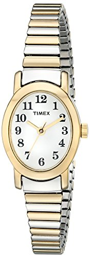 Timex Women's T2M570 Cavatina Two-Tone Stainless Steel Expansion Band Watch