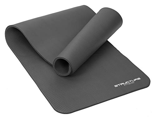 FiNeWaY Yoga Mat NBR Fitness Extra Thick Foam Exercise Pad...