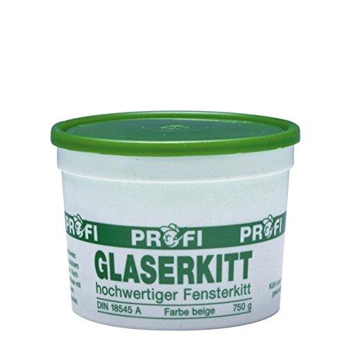 Pufas Profi-Glaserkitt in Runddose 0,750 KG