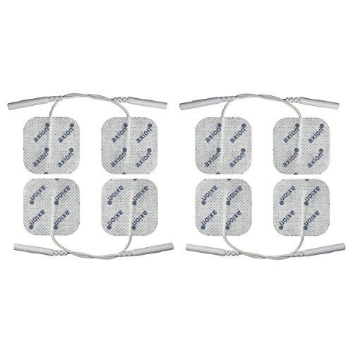 8 TENS Elektroden-Pads 40x40 mm - Universal-Elektroden für TENS & EMS - axion