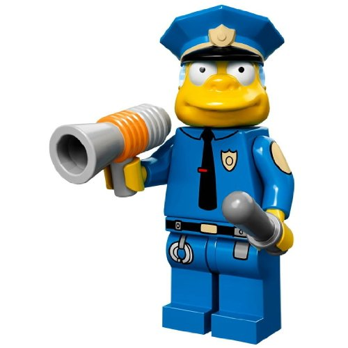 LEGO Minifiguren 71005 The Simpsons: Chief Wiggum