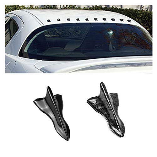 1Pcs Car Roof Mini Fish Fin Tail Wing Spoiler Diffuser Universal Auto Tail Decoration for Most Vehicles