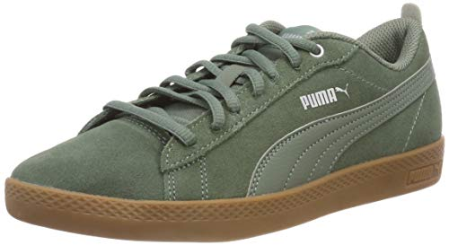Puma Damen Smash WNS v2 SD Sneaker, Grün (Laurel Wreath-Laurel Wreath 04), 39 EU