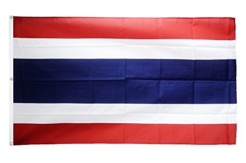 Flaggenfritze Fahne/Flagge Thailand - 150 x 250 cm + gratis Sticker, XXL-Fahne
