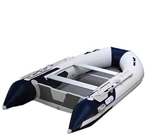 Prowake Schlauchboot AL 360: 360cm lang mit Aluminiumboden - blau/weiß - ideal für 5 Personen