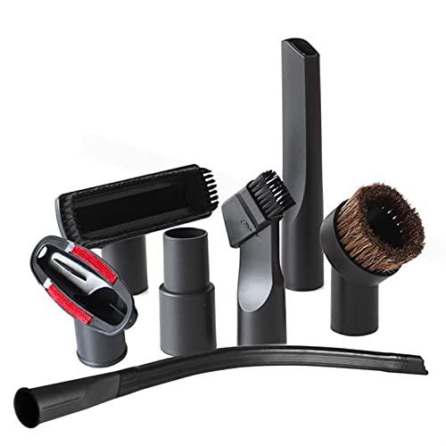 Accesorios de aspiradora Limpiador de aspirador Cepillo Boquilla Polvo de la casa Conjunto de herramientas de la escalera de la escalera Ajuste para 32 mm 35mm Suministros de limpieza de hogares de 35