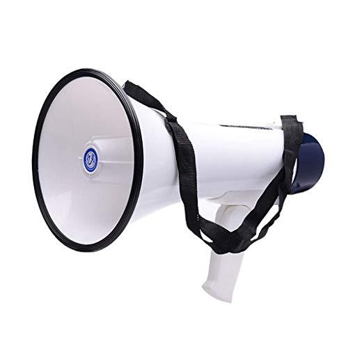 CPAZT Hand Lautsprecher, hausieren Werbung Feuer und Hochwasserschutz Aufnahme Lautsprecher, 30 W Super-High-Power, Smart-Taste, Staub- und wasserdicht, geringe Ausfallrate, einfache Bedienung YCLIN