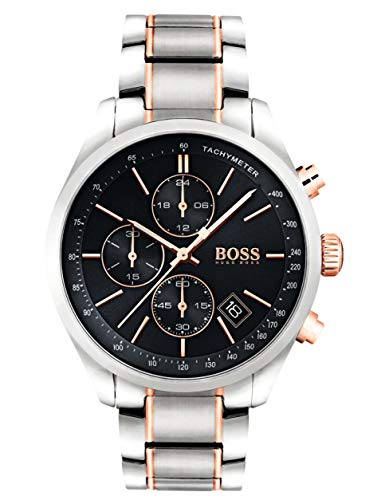 Hugo Boss Men's Chronograph Quartz Watch with Stainless Steel Bracelet – 1513473