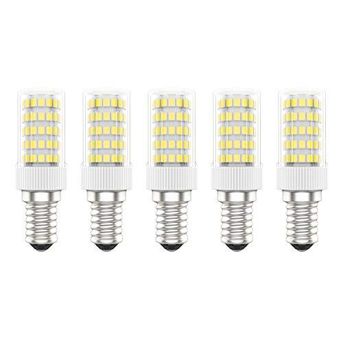 5X E14 LED Leuchtmittel 10W LED Bulb 86 SMD 2835LEDs Warmweiß 3000K LED Birnen Hohe Helligkeit 800LM LED Lamen AC220V-240V
