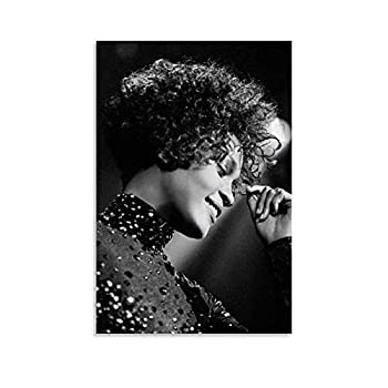 ATOT Whitney  2018  - Whitney Houston Documentary Poster Decorative Painting Canvas Wall Art Living Room Posters Bedroom Painting 12x18inch 30x45cm