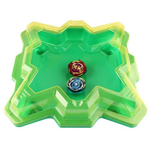 sharprepublic Spinning Top Toys Battle Gyro Burst Metal Fusion 4D con Launcher Stadium Plate