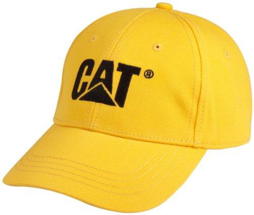 Caterpillar Herren Cap Trademark - Gelb - Einheitsgröße