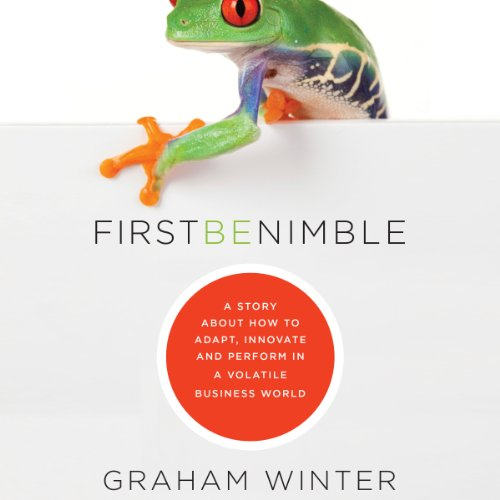 First be Nimble audiobook cover art