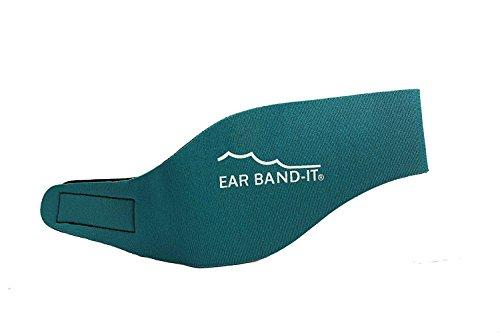 Ear Band-It Diadema Schwimmen (erfunden von einem Arzt) behält Wasser, vorbehaltlich die Stecker Ohren (sicher) die Stecker Ohren Groß (im Alter von 10 Erwachsenen) Teal