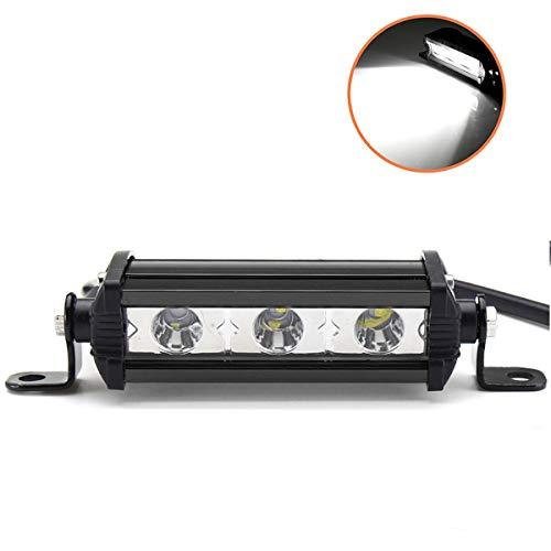 Willpower 4 Zoll 15W einreihige LED-Lichtleiste Low Profile Ultradünner, schlanker Mini-Scheinwerfer für PKW, LKW, Anhänger, 4x4, SUV, ATV