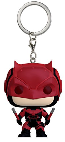 Funko Pop!- Pocket Keychain: Marvel: Daredevil Red Suit (7577-PDQ)