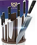 DALSTRONG Knife Block Set - 6-Piece w/Magnetic Knife Stand - Phantom Series - Japanese High-Carbon - AUS8 Steel - Pakkawood Handle