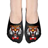 Women Ladies Socks Ankle Yuri Plisetsky Tiger Casual No Show Socks Non Slip Flat Boat Line