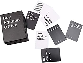 Box Against Office with 352 Cards