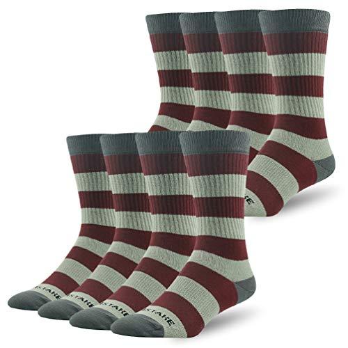 Performance Socks for Mens, Ristake Womens All-Season Quarter Cushioned Socks Fashion Patterned Flag Socks Best for Outdoor Recreation Cycling Hiking Trekking Climbing Skiing Skating