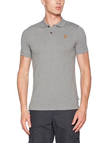 FJÄLLRÄVEN Herren Övik Polo Shirt, Grey, XXL