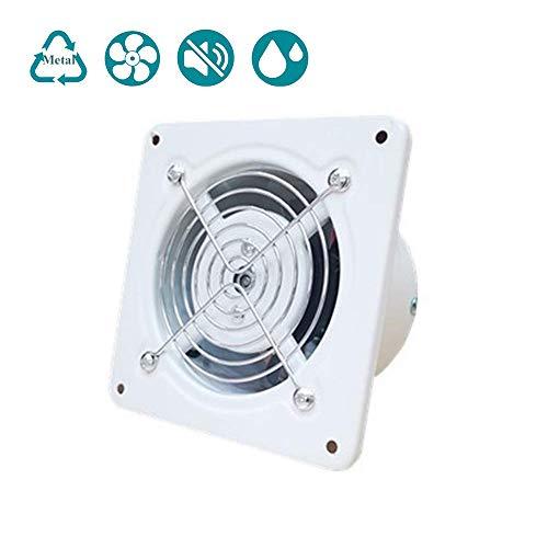 Ba/ño Hon/&Guan 150mm Ventilador Extractor de Aire Silencioso 201m/³//h para Oficina Dormitorio