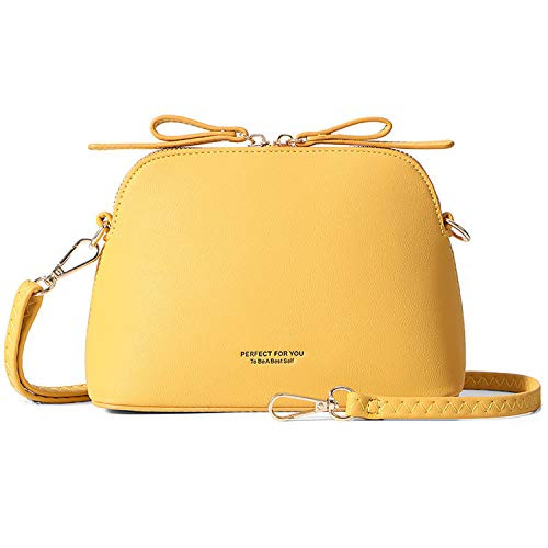Borsa a tracolla da donna,Travistar borsa a tracolla da donna piccola ed elegante borsa a tracolla in pelle PU per la scuola di lavoro quotidiana casual della città