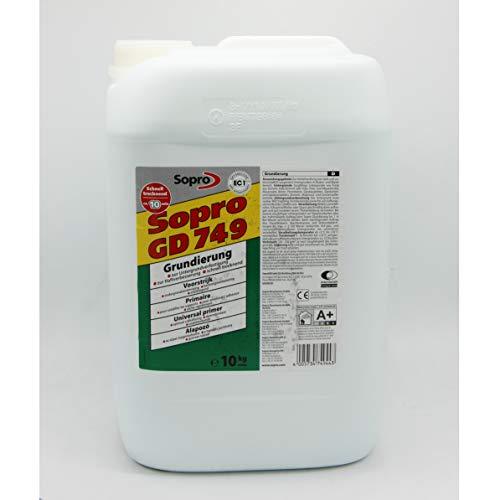 Sopro Grundierung GD 749 - lösemittelfreie, hochkonzentrierte, schnell trocknende Kunstharz-Grundierung (10)