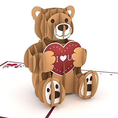 Lovepop Love Bear Popup Card