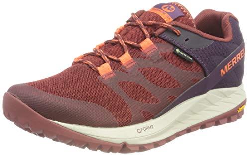Merrell ANTORA GTX, Zapatillas para Caminar Mujer, Rojo (Ladrillo), 39 EU