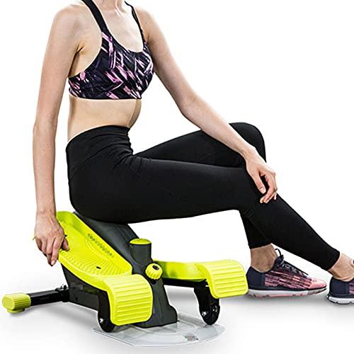 HXXXIN Stepper Mute Mini Máquina Elíptica Pequeña Casa para Hombres Y Mujeres Equipo De Fitness Andador Espacial Ejercicio Fitness