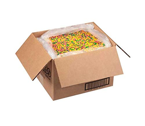Wonka Rainbow Nerds Candy - BULK - 30lb (13.6kg) Variety of Rainbow Colors Distinct Flavors Sweet and Sour Tiny in Size Used for Toppings Or Snacks in Bakeries Cafes Candy Shops