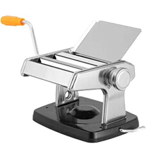 Nudel-Bügelmaschine Nudelmaschine Küche kochend Nudel-Maschine, Klein Schwarz mit Kurbel Sucker Typ Schnell Nudel, Küche Hausgemachte Frische Teigwaren