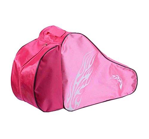 Black Temptation Skate Bag - Tasche, um Schlittschuhe, Rollschuhe, Inline Skates für Kinder/Erwachsene, B zu tragen