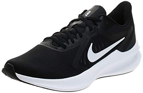Nike Męskie buty do biegania Downshifter 10, czarny - Czarno-bia?e antracyty - 44.5 eu