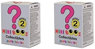 TY Mini Boos Collectibles - Series 2 - Hand Painted Figurines (x2 Figurines Sent Out at Random)