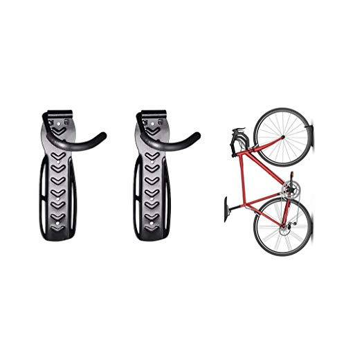 MNBV Bicycle Holders, Bicycle Rack Storage, Bike Hanger, Wall-Mount, for Hanging Road, Mountain Or Hybrid Bicycles