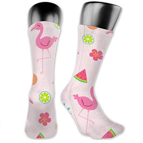 JONINOT 2 paquetes de calcetines deportivos ligeros y cómodos de 40CM, novedad, divertidas y bonitas medias de verano medias largas