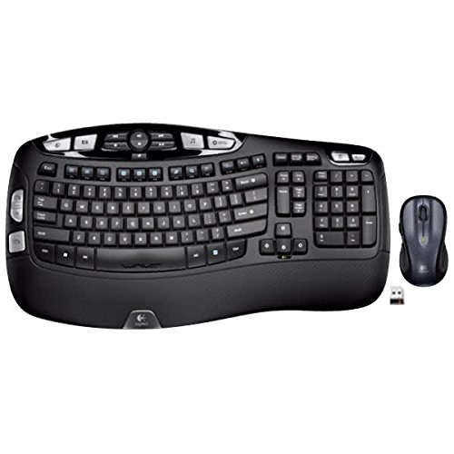 Logitech MK550 Wireless Wave Keyboard and Mouse Combo - Includes...