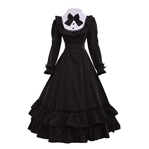 GRACEART Viktorianisches Ballkleid-Bürgerkrieg-Kleid (XX-Large)