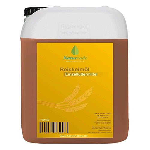 Naturzade Reiskeimöl Einzelfuttermittel Pferde 5 Liter Kanister