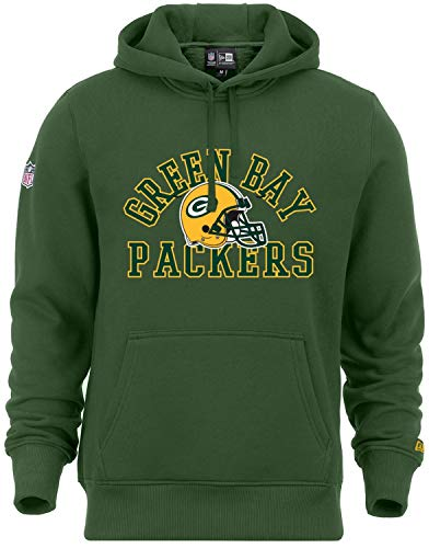 New Era - NFL Green Bay Packers College Hoodie - ciltrano Green Size M