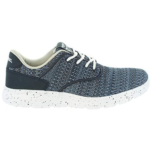 B3D Zapato de Hombre Plano con Cierre de Cordones Deportivo/A