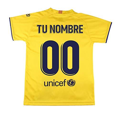 Champion's City Camiseta - Personalizable - Adulto Segunda Equipación - FC Barcelona - Réplica Autorizada