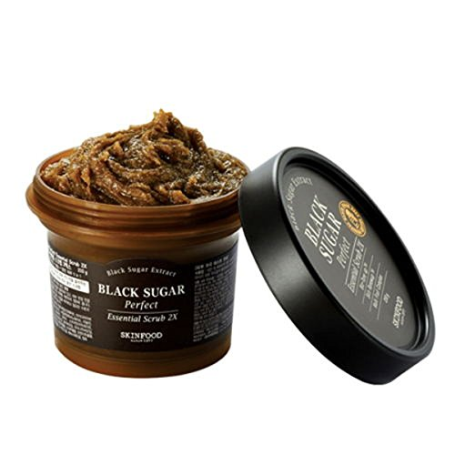 Black Sugar Perfect Essential Scrub 2x 210g Upgrade Black Sugar Mask